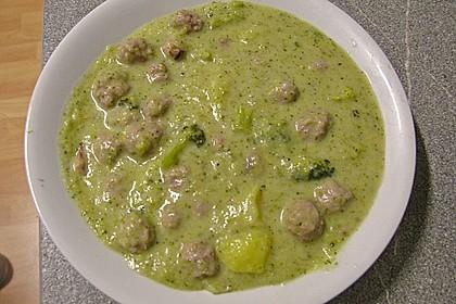 Blumenkohl - Brokkoli - Suppe 3