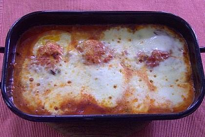 Hähnchenbrust in Tomaten - Kapern - Oliven - Sauce 2