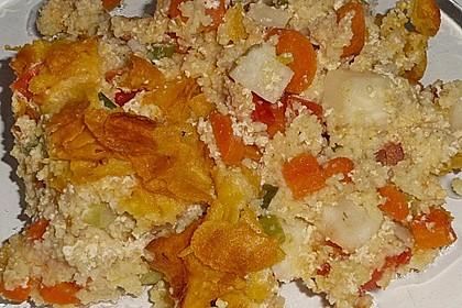 Hirse - Gemüse - Auflauf 1