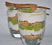 Trauben - Mascarpone - Dessert (Bild)
