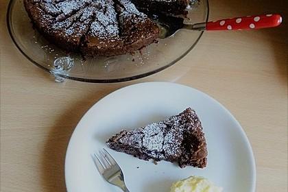 Französischer Schokoladenkuchen 9