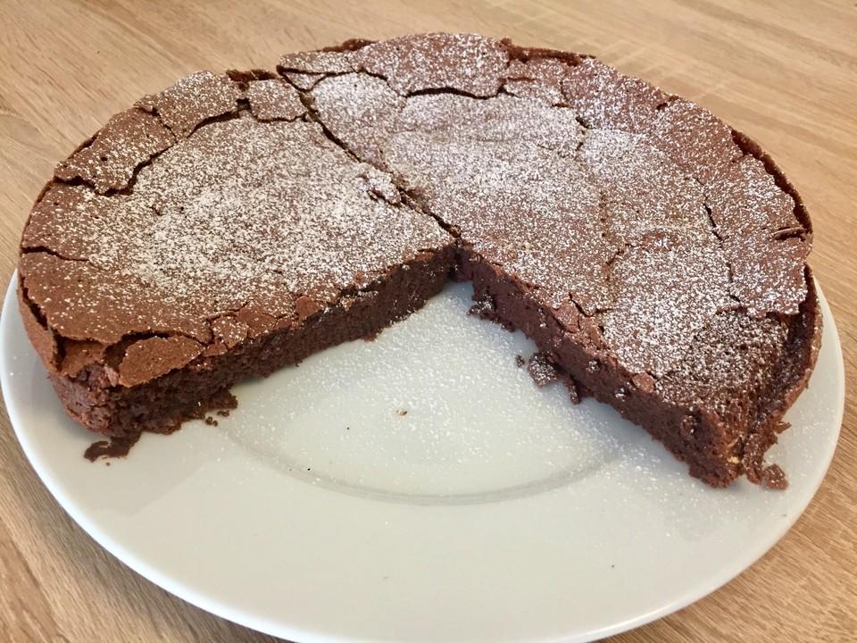 Franzosischer Schokoladenkuchen Von Silvia496 Chefkoch De