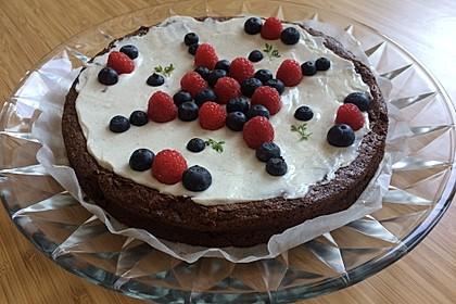 Französischer Schokoladenkuchen 1