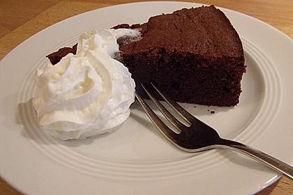 Französischer Schokoladenkuchen 4