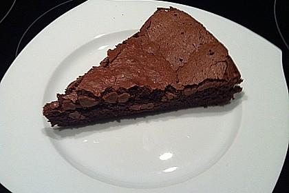 Französischer Schokoladenkuchen 11