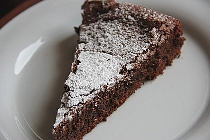 Französischer Schokoladenkuchen 3