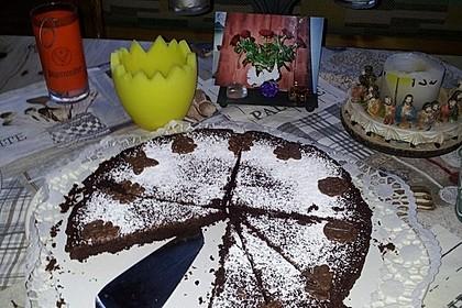 Französischer Schokoladenkuchen 14