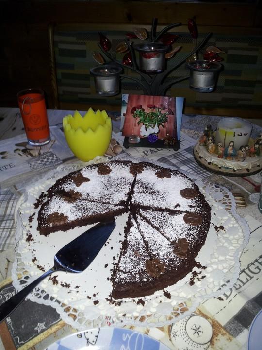 Französischer Schokoladenkuchen 15
