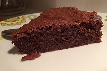 Französischer Schokoladenkuchen 10