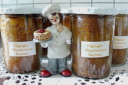 Töginger Mandarinenkuchen im Glas 2