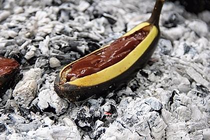 Schoko - Banane vom Grill 3