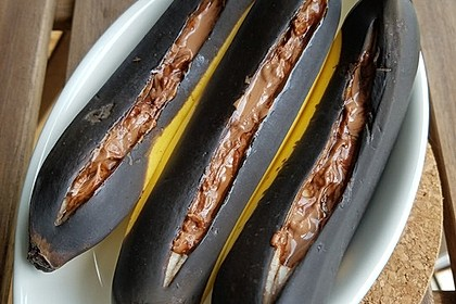 Schoko - Banane vom Grill 17
