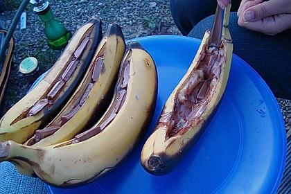Schoko - Banane vom Grill 18