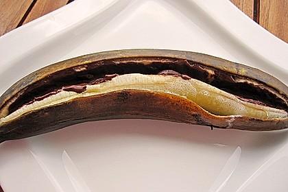 Schoko - Banane vom Grill 10