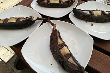 Schoko - Banane vom Grill 15