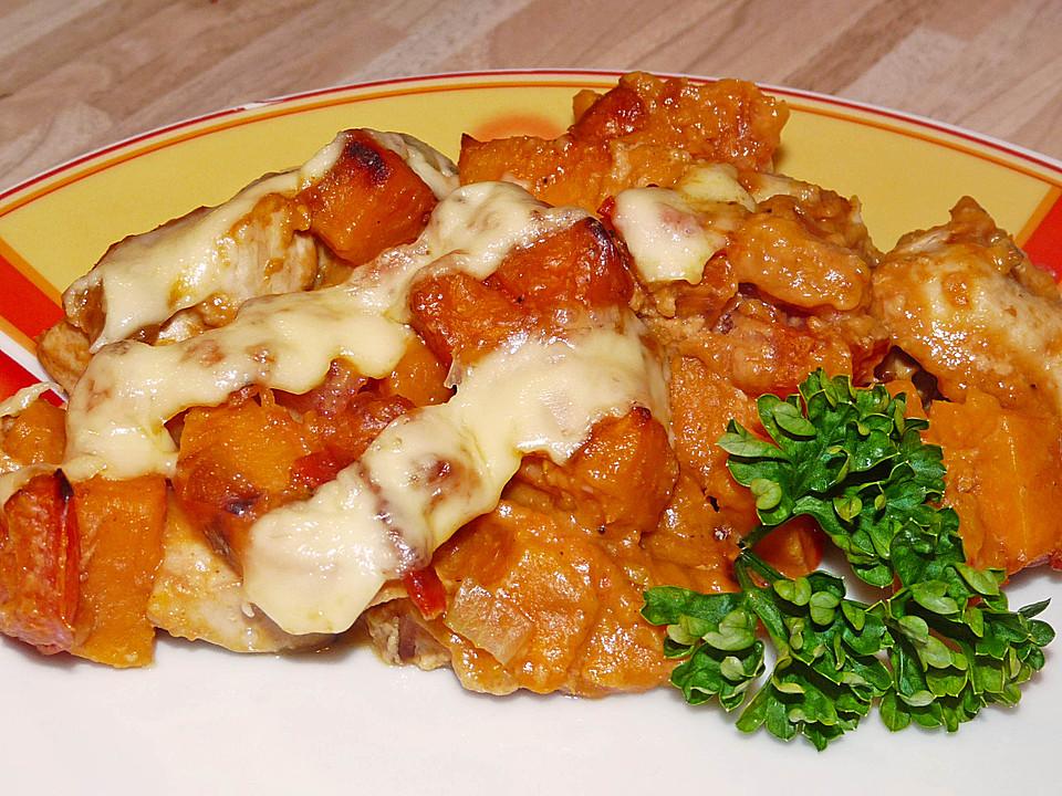 Süßkartoffel Hähnchen Auflauf Von Zuckerbacher Chefkochde