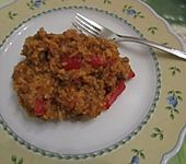 Jugoslawische Reispfanne (Bild)