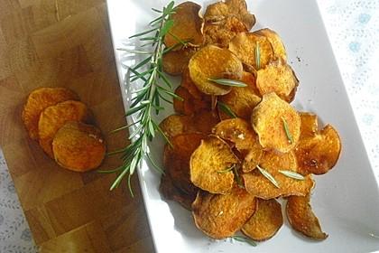 Süßkartoffel - Chips 1
