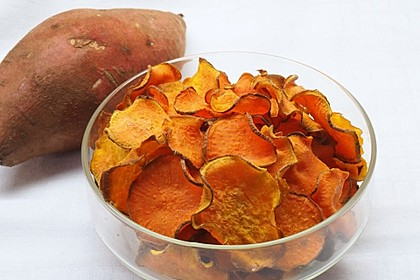 Süßkartoffel - Chips 3