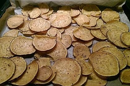 Süßkartoffel - Chips 15