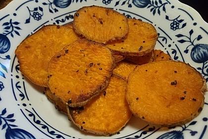 Süßkartoffel - Chips 10