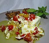 Gebackener Schafskäse 'Griechische Art' (Bild)