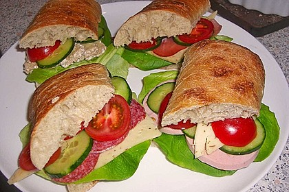Provolone - Tomaten - Sandwich