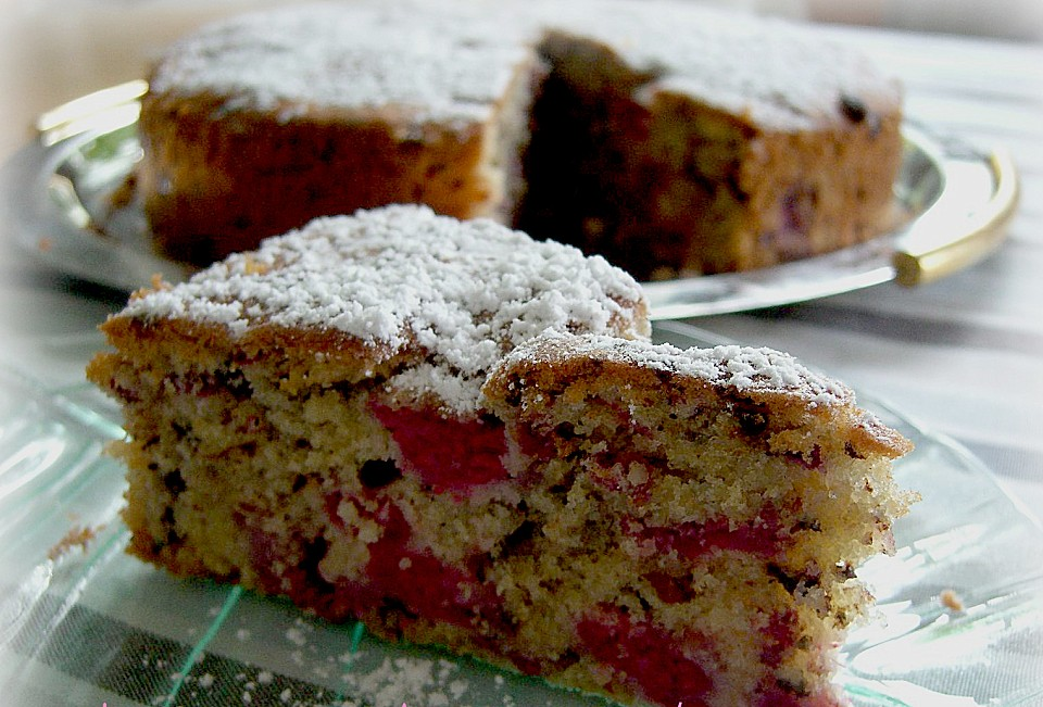 Himbeer Kuchen Ein Schmackhaftes Rezept Chefkoch De