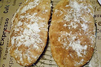 Ciabatta mit Lievito madre und Biga (Vorteig) 36