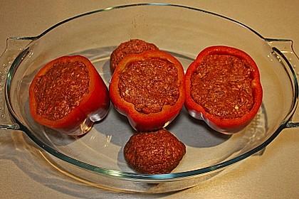 Gefüllte pikante Paprika 4