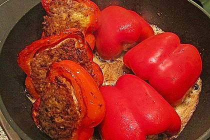 Gefüllte pikante Paprika 3