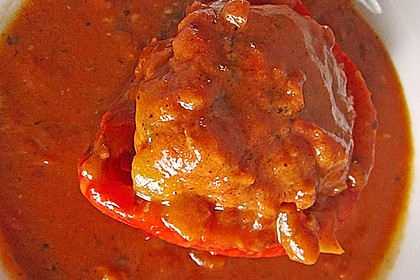 Gefüllte pikante Paprika 1