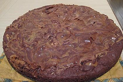Dulce de leche - Brownies 9