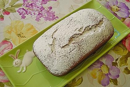 Bananenkuchen mit  feinem Zimtgeschmack 21