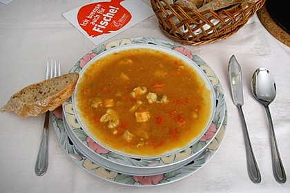 Paprika - Fischsuppe
