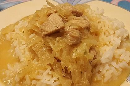 Hühnchen mit Sauerkraut 10