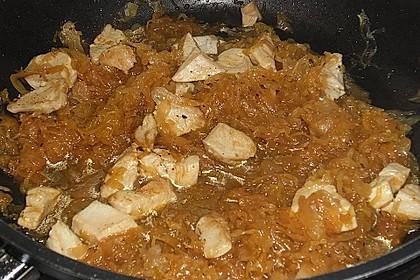 Hühnchen mit Sauerkraut 13