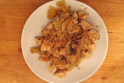 Hühnchen mit Sauerkraut 12