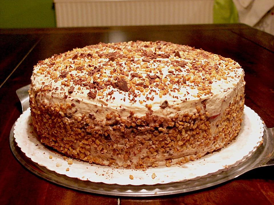 Urmelis Kirsch Baileys Cappuccino Torte Von Urmeli75 Chefkoch De