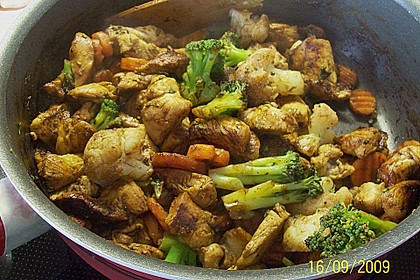 Insulanis figurfreundliche Puten - Gemüse - Pfanne 1