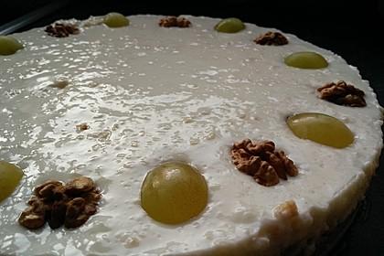 Joghurt - Honig - Nuss - Torte 3