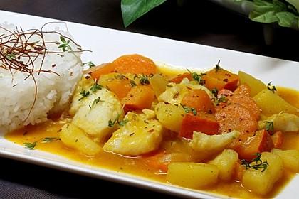 Fisch - Kartoffel - Curry
