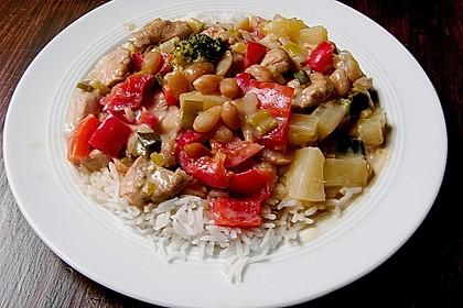 Exotische Reispfanne mit Hähnchenbrust 6