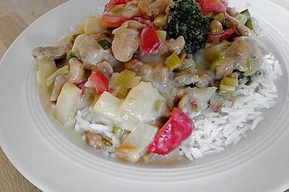 Exotische Reispfanne mit Hähnchenbrust 5