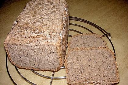 Saftiges Mischbrot für den Brotbackautomat