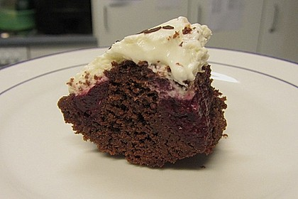 Black Forest Brownies 4