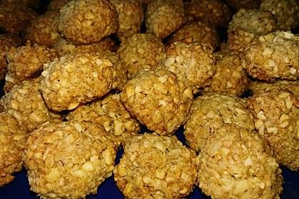 Knabberbällchen mit Nüssen und Kernen 2