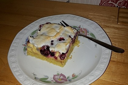 Kirsch - Himbeer - Heidelbeer - Schmand Blechkuchen 9