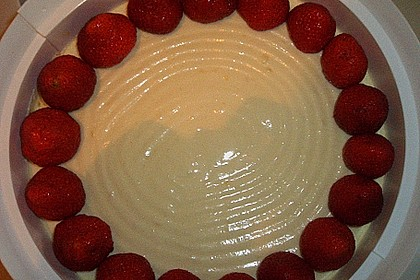 Erdbeerkuchen mit Vanillecreme 127