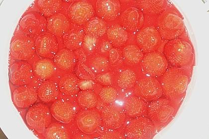 Erdbeerkuchen mit Vanillecreme 130